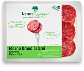 Milano Brand Salami Naturalissima
